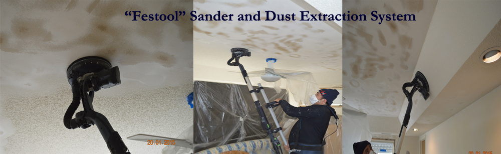 Popcorn Ceilings Removal